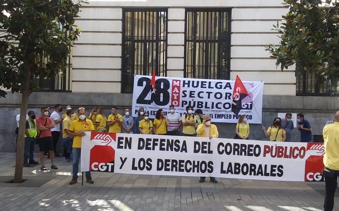 Jornada de huelga en el sector público, convocada por CGT
