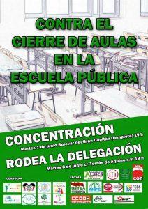 Rodea la Delegación de Educación @ Delegación de Educación Junta Andalucía