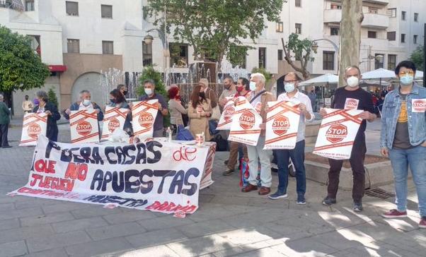 Stop Casas de Apuestas considera insuficiente y una mera justificación las medidas adoptadas por la Junta de Andalucía