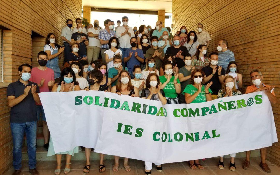 USTEA muestra su apoyo a los profesores condenados por el accidente en los Baños de Popea