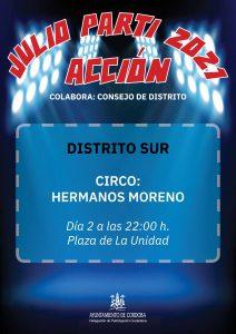 Julio Parti Acción 2021 @ Plaza de la Unidad
