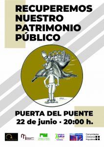 Concentración por la recuperación del patrimonio público @ Puerta del Puente