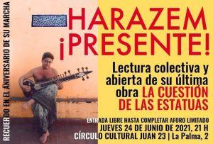 Manuel Harazem en el recuerdo @ Círculo Cultura Juan 23