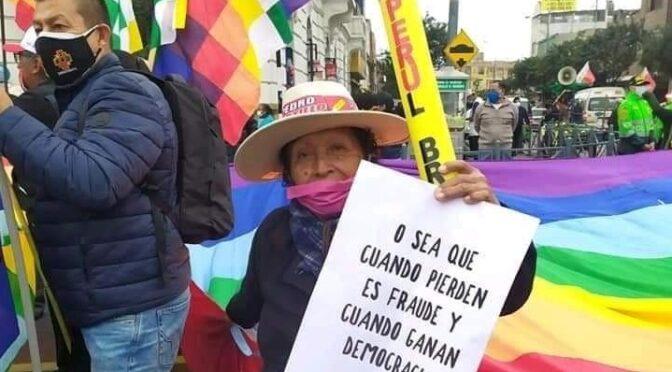 """La Mirada de… ASPA: """"Perú. La libertad del pueblo, se respeta"""""""
