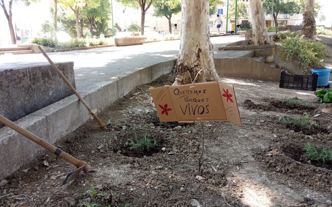 Sur se mueve por el clima reivindica la dignificación del Parque de verano de Guadalquivir
