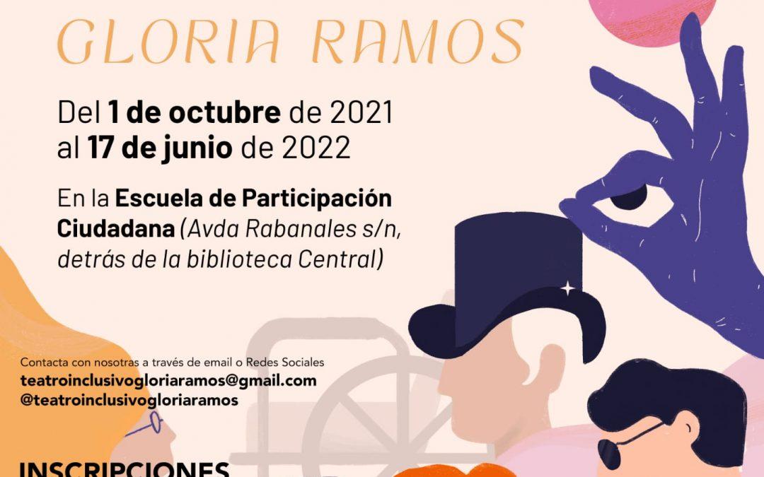 ¿Quieres ser alumna o alumno de la Escuela de Teatro Inclusivo y Accesible Gloria Ramos?