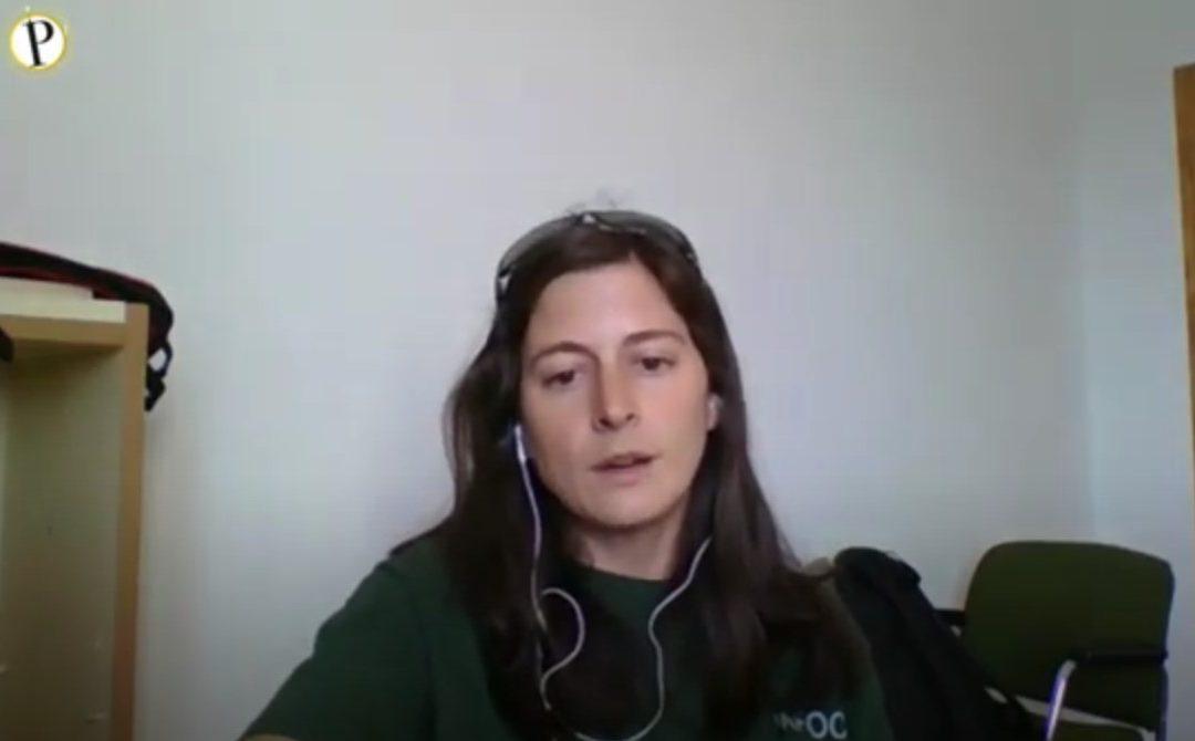 """Sonia Garrido, bombera forestal presente en el incendio de Sierra Bermeja: """"Al ver aquello se me caían las lágrimas"""""""