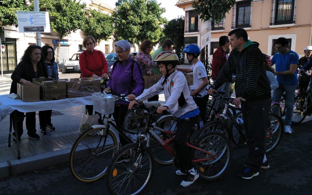 Vuelve, tras la pandemia, la ya tradicional Marcha en Bici entre Cañero y el Campo de la Verdad