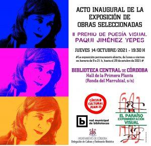 """II Premio de Poesía Visual """"Paqui Jiménez Yepes"""" @ Biblioteca Central"""