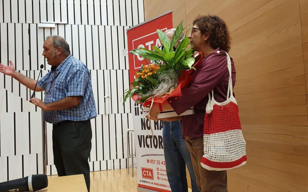 Charo López Rueda releva a Paco Moro en la Secretaría General de CTA